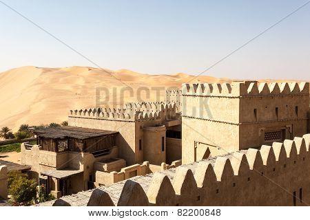 Desert Resort Hotel In Abu Dhabi
