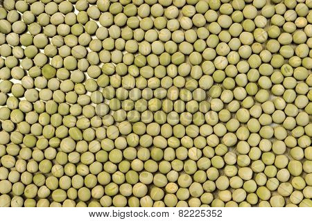 Dried peas background