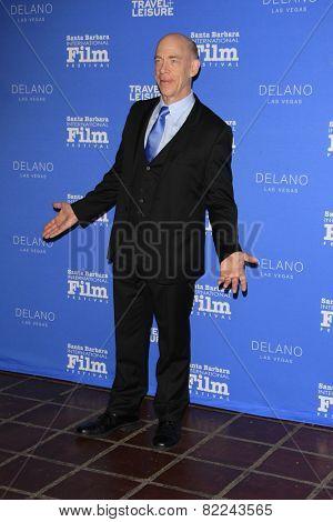 SANTA BARBARA - FEB 1:  J.K. Simmons at the Santa Barbara International Film Festival - Virtuosos Award at a Arlington Theater on February 1, 2015 in Santa Barbara, CA