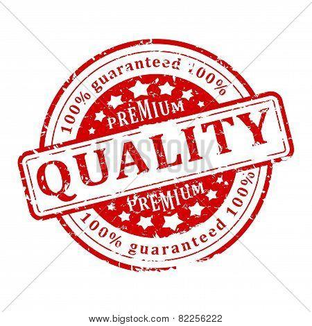Red Stamp - Premium Quality Guaranteed