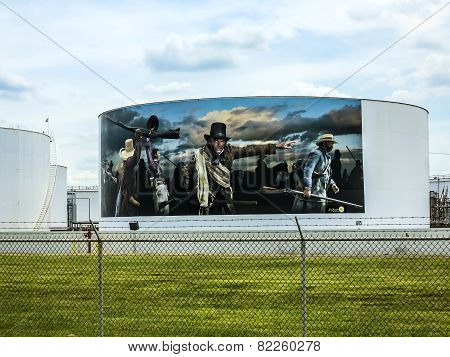 Paintings On The Tanks