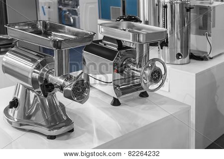 Two Machine For Mincing Meat