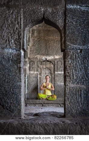 Meditation In Hampi