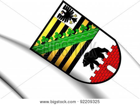 Saxony-anhalt Coat Of Arms, Germany.