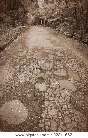 Damaged Road