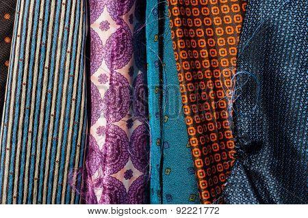 fabrics background
