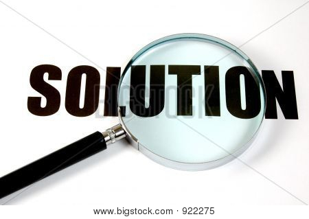 Magnifying Glass - Solution