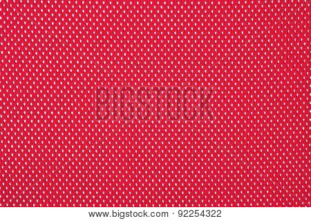 Red Nonwoven Fabric Background