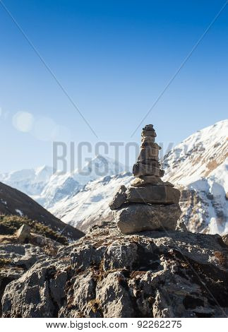 Temple on top of mountain