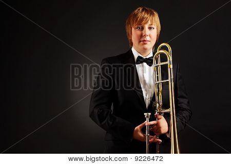 Female With Trombone