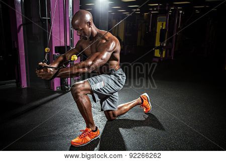Cable Wire Chest Fly Workout
