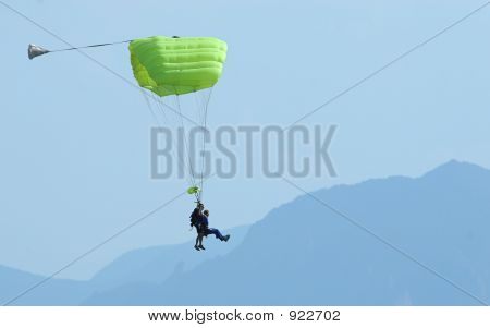 Yellow Parachute Jump