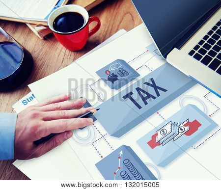 Tax Refund Return Audit Financial Income Legal Concept