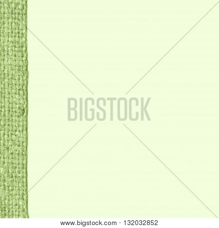Textile weft, fabric industry, viridian canvas, gunny material blank background