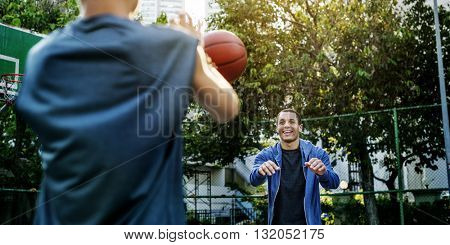 Coaching Bounce Basketball Activity Athlete Sport Concept