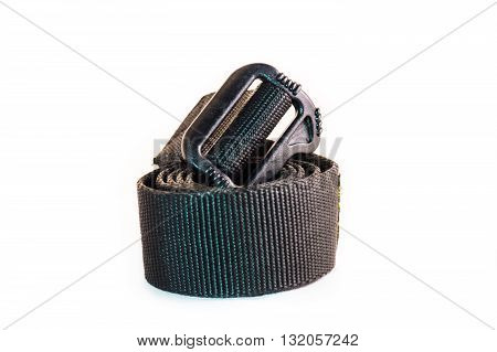 the belt is isolate in the white background