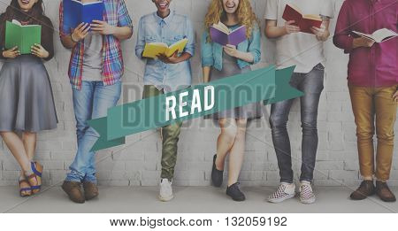 Read Knowledge Learning Leisure Lifestyle Relax Concept