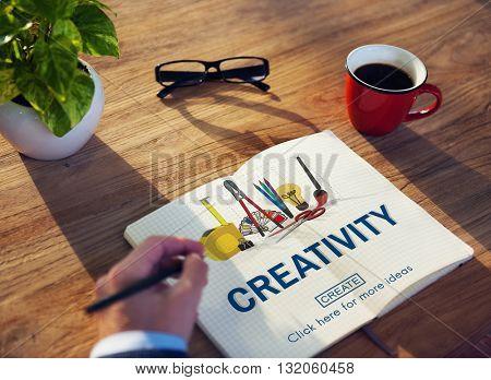 Creativity Ideas Equipment Create Concept