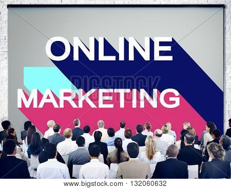 Online Marketing Branding Commercial Digital Concept