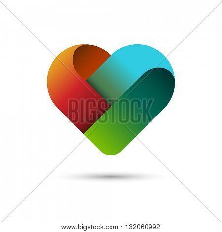 Heart symbol, eps10 vector