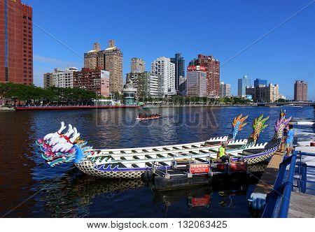 Preparing For The 2016 Dragon Boat Festival