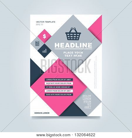 brochure template creative brochure template business template of brochure or flyer annual report