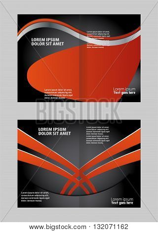 Bi-Fold Mock up Brochure Design. Bi-Fold Corporate Business Store Mock up & Brochure Design