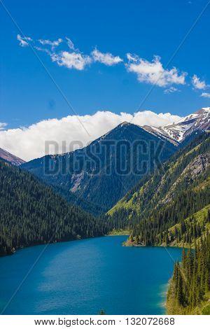 Kolsay lake in Tien-Shan mountains Kazakhstan 2016