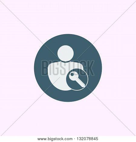 User Access Icon In Vector Format. Premium Quality User Access Symbol. Web Graphic User Access Sign