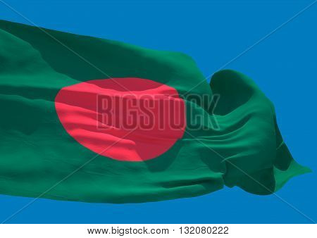 Bangladesh wave flag HD People's Republic of Bangladesh