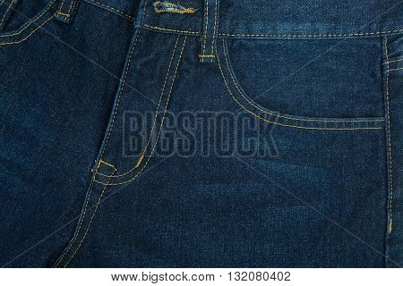 Jeans as background isolate on white background