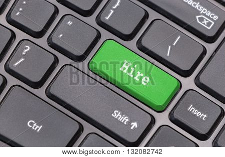 Computer Keyboard Closeup With
