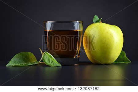 Green Apple And Apple Juice