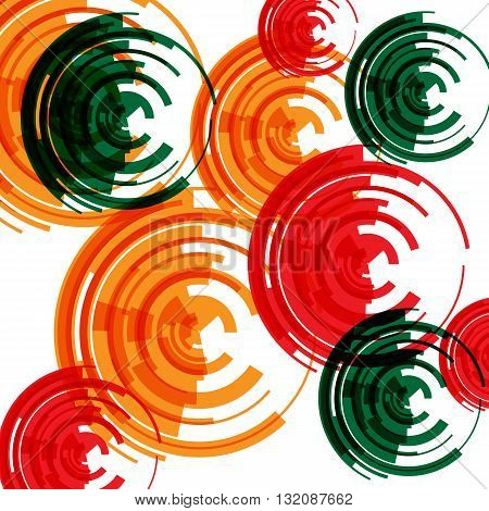 Abstract pattern for futuristic background or music playlist. It can be used for wrapping or cover of paper