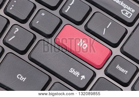 Computer Keyboard Closeup With