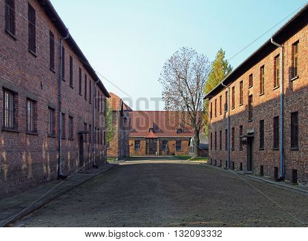 Barracks Of Auschwitz I Concentration Camp