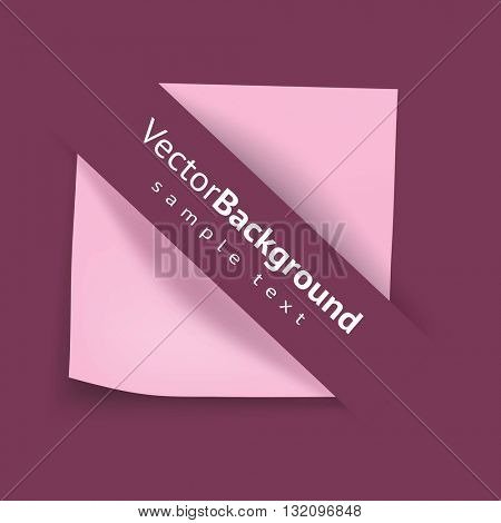 Sheets paper. Vector illustration.
