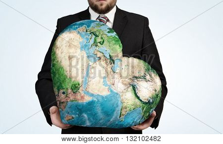 Earth planet in our hands