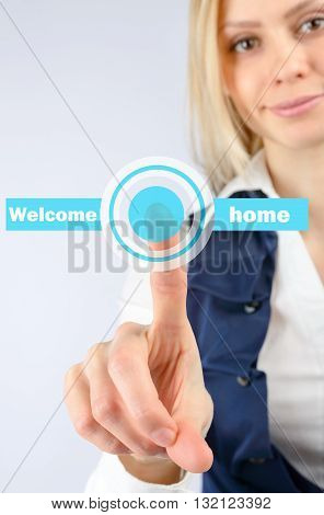 Smart House Welcomes Young Woman