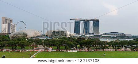 Landmark Marina Bay Sands Hotel