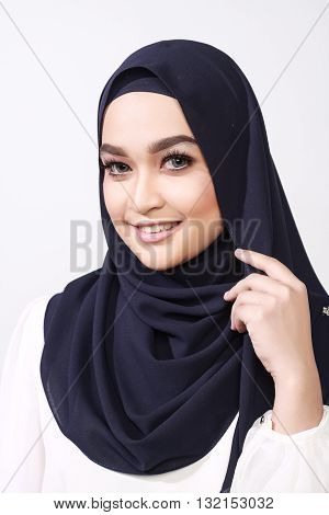 Asian Muslimah Woman Expression