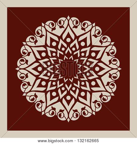 Template Mandala Vector & Photo (Free Trial) | Bigstock