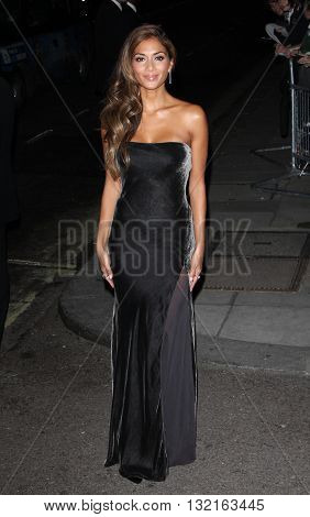 LONDON, UK - OCTOBER 7, 2013: Nicole Scherzinger attends the Pride of Britain awards at Grosvenor House taken in a public area in London
