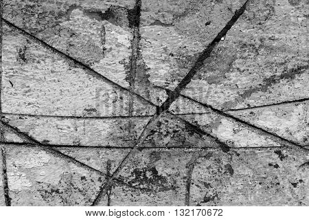 Background of a damaged and weathered plastered wall