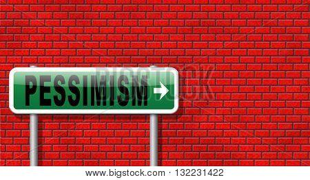 Pessimism, negative pessimistic thinking bad mood pessimist, negativity.