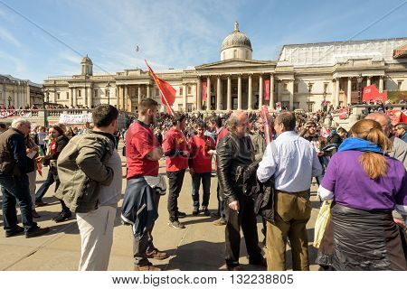 London May Day International Workers Rally