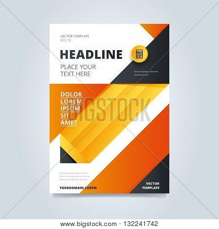Brochure Design Vector Photo Free Trial Bigstock