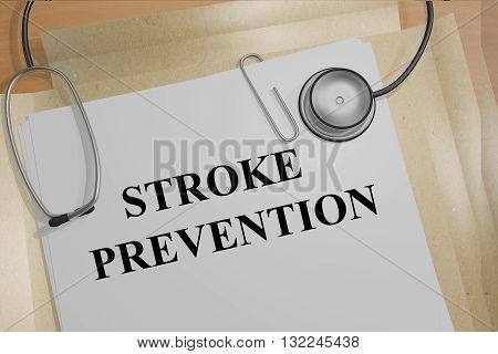 Stroke Prevention Medical Concept