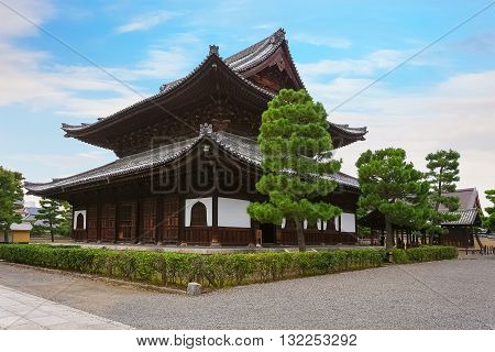 Main Hall of Kennin-ji Temple in Kyoto