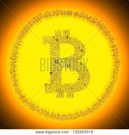 Bitcoin Symbol Coin